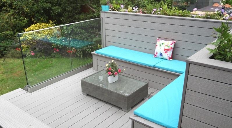 deck bench