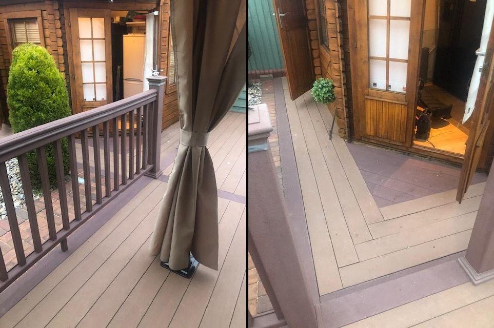 Composite decking after 10 years