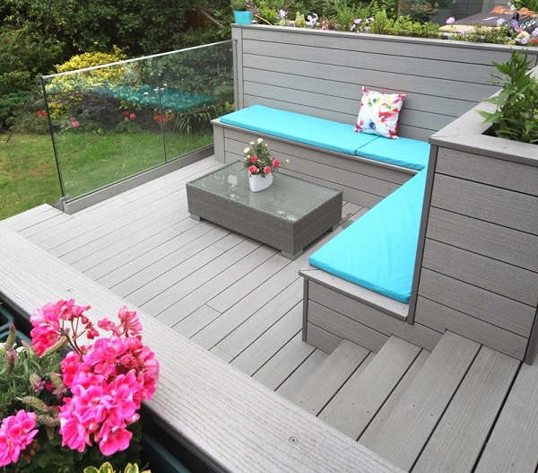 Composite Decking Bench