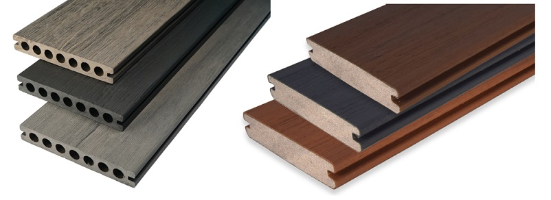 hollow vs solid decking, decking reviews