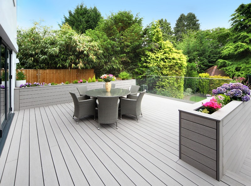 Deck Planters The Perfect Addition To Your Garden Deck