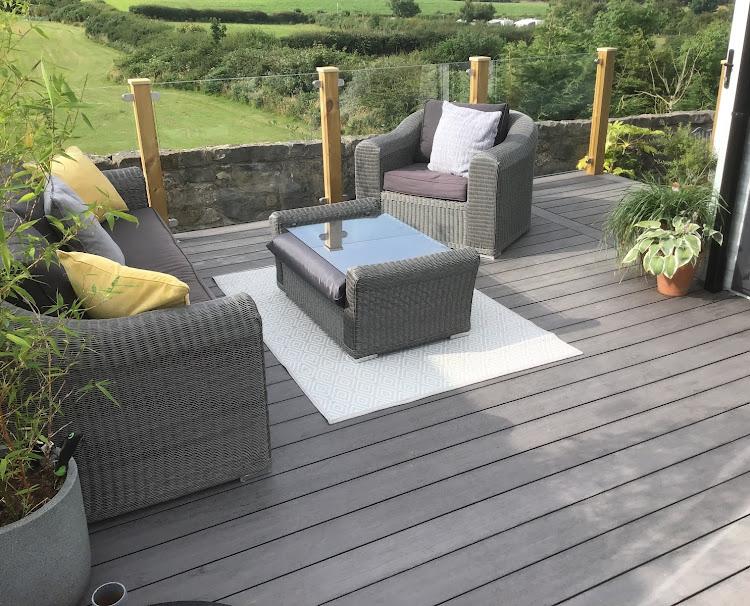 WeatherDek Grey outdoor decking